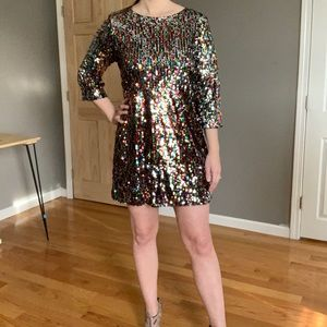 Brand new never worn w/ tags Boohoo party dress!